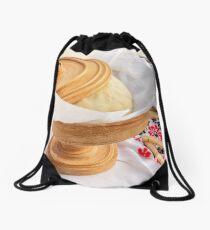 Pita Dough Rising Drawstring Bag