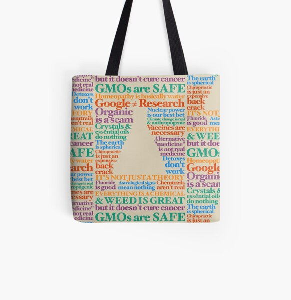 The Consensus All Over Print Tote Bag