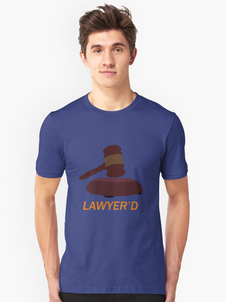 Lawyer'd by Marshall - HIMYM Unisex T-Shirt Front