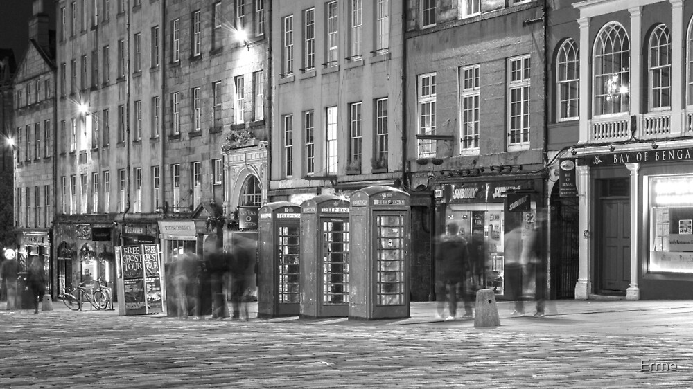 High Street Ghosts by Errne