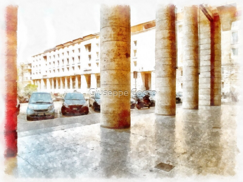 Rome: Augusto Imperatore square by Giuseppe Cocco
