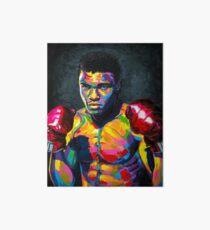 Muhammad Ali Art Board Print