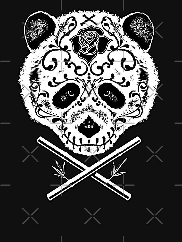 Panda De La Muerte by barmalisiRTB
