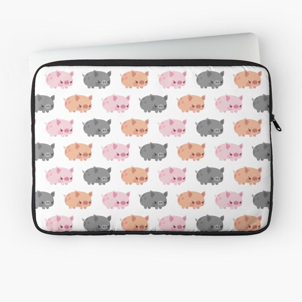 Three grumpy little pigs Laptop Sleeve