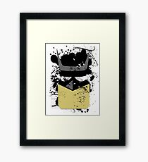Pop Grunge: Batman Framed Print
