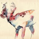 Lively Deer by Eevien Tan