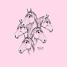 Home is where my horse is - pink by MadeByLen