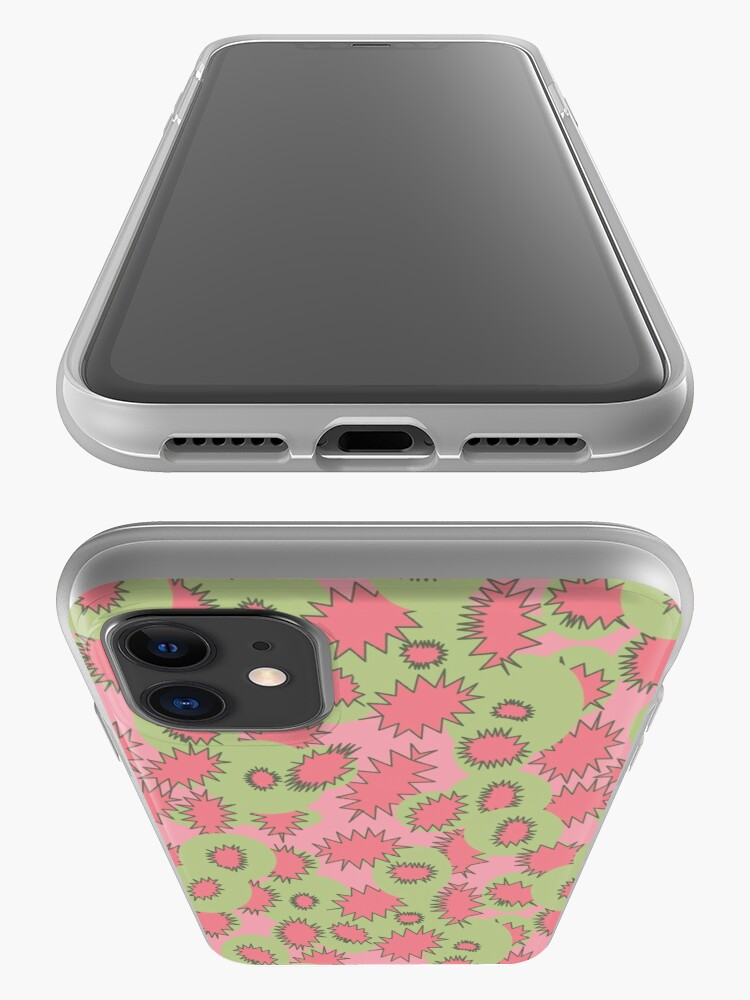 Alternate view of Juiciest Fruit - Green and Pink iPhone Case & Cover