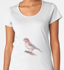 Purple Finch Women's Premium T-Shirt