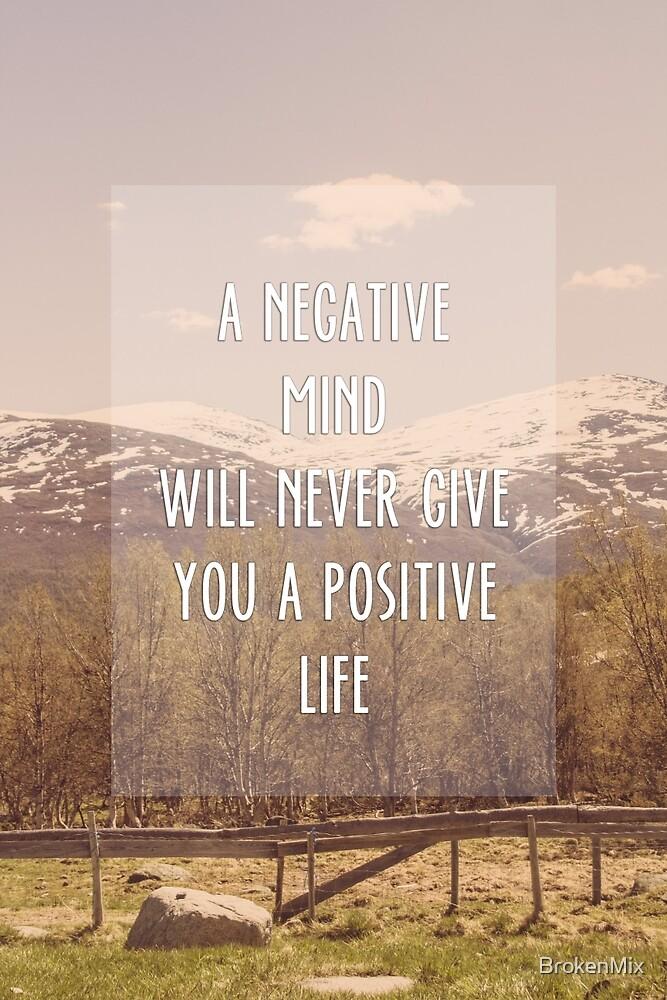 A negative mind by BrokenMix