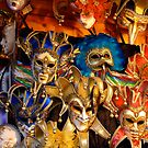 Venetian Masks by friendlydragon