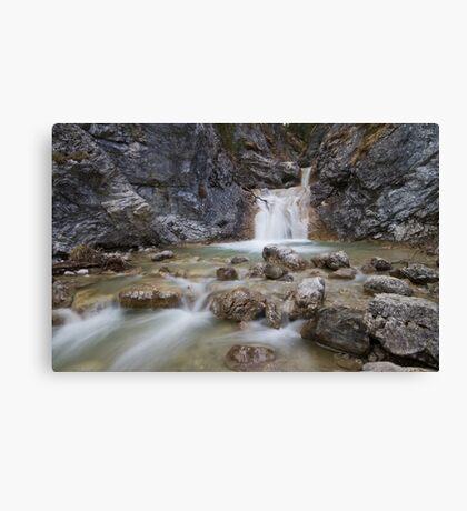 water pools Canvas Print