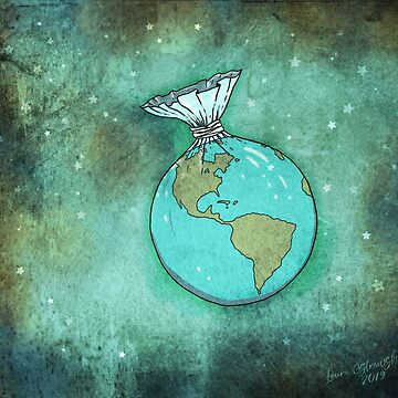Plastic Planet by jitterfly