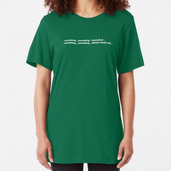 Basketball Death Cult - Tee Slim Fit T-Shirt