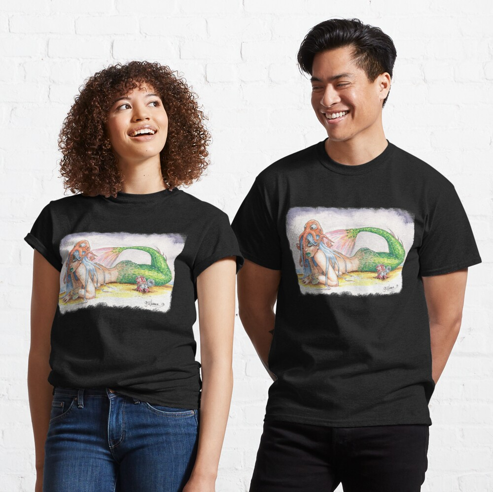 """HE DID IT"" - Mermaid and Friends Classic T-Shirt"