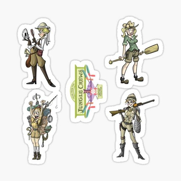 TFJC Stickers- The Ladies Sticker