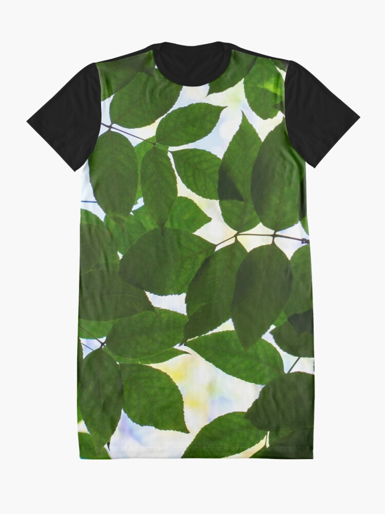 Alternate view of Natural Patterns  Graphic T-Shirt Dress