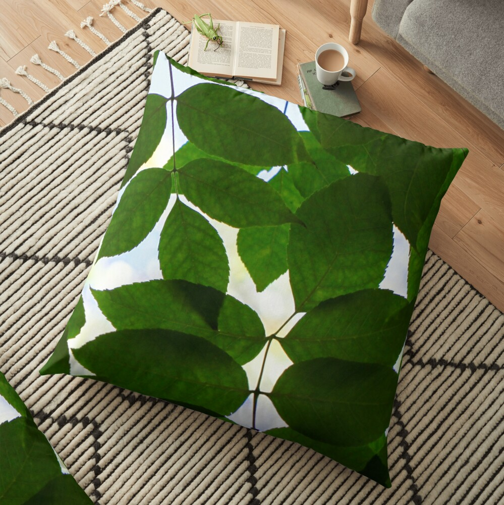 Natural Patterns  Floor Pillow