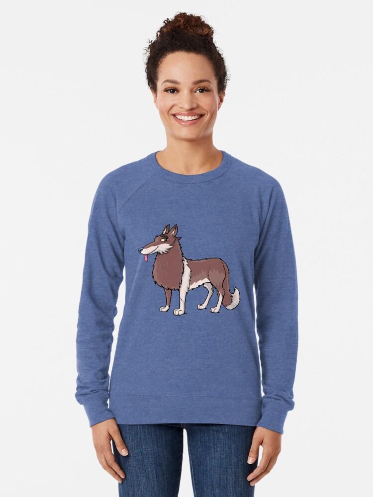 Alternate view of Border Collie Lightweight Sweatshirt