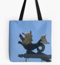 Heraldic Lion of the Sea Tote Bag