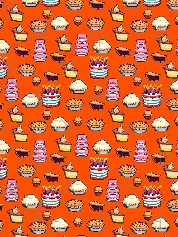 Pastry Pixel Pattern by Emmytwofive