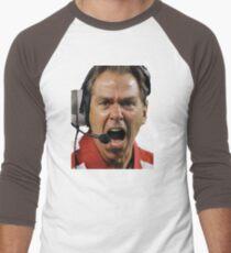 Nick Saban The Hulk Men's Baseball ¾ T-Shirt