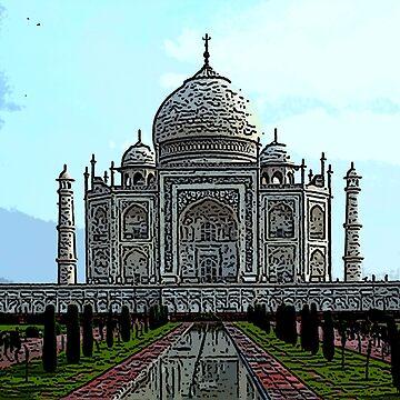 Taj Mahal bywhacky by bywhacky
