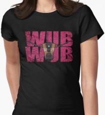 96.5% MORE WUB WUB Women's Fitted T-Shirt
