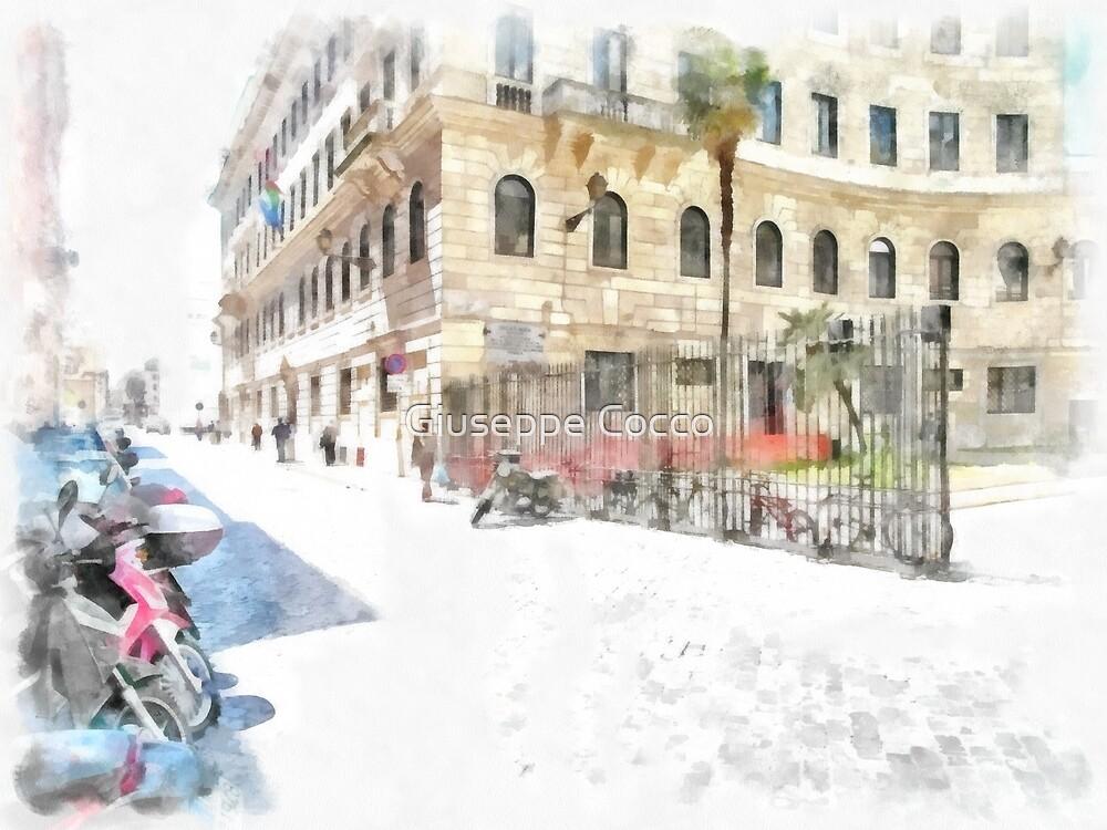 Rome: Ripetta street by Giuseppe Cocco