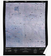 USGS TOPO Map Texas TX Alta Vista Ranch SW 20100525 TM Inverted Poster