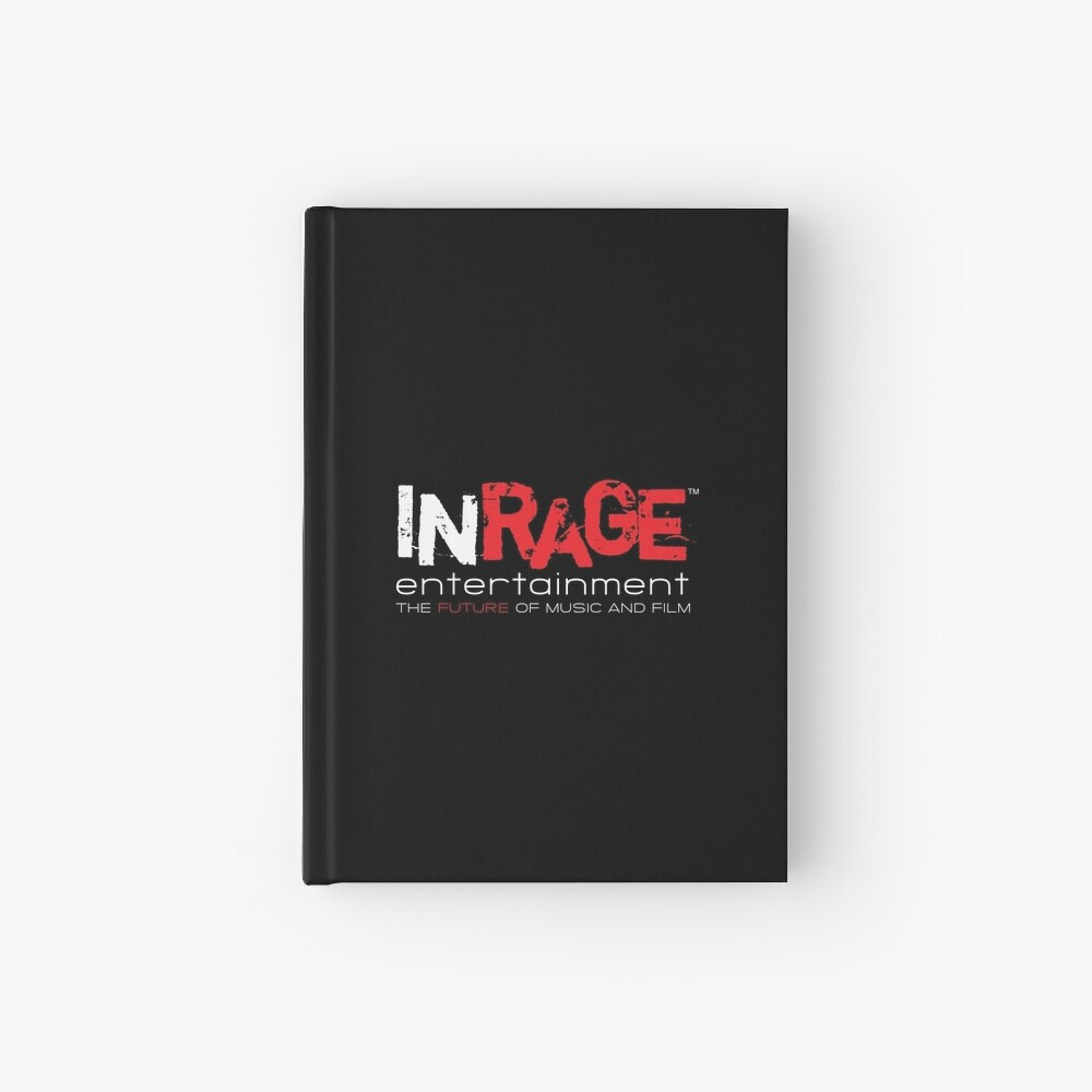 InRage Logo Hardcover Journal