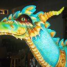 Teal Dragon by mystapring