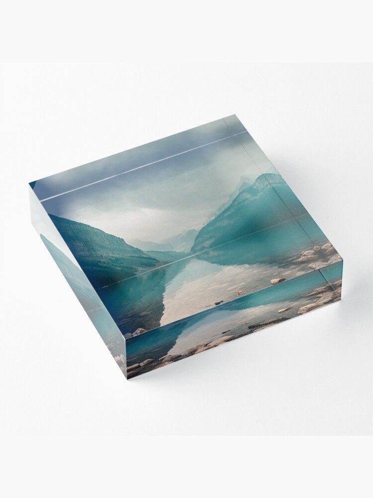 Alternate view of Lake Louise, Canada Acrylic Block