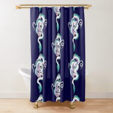 Haku the River Spirit Shower Curtain