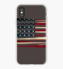 America baseball flag iPhone Case