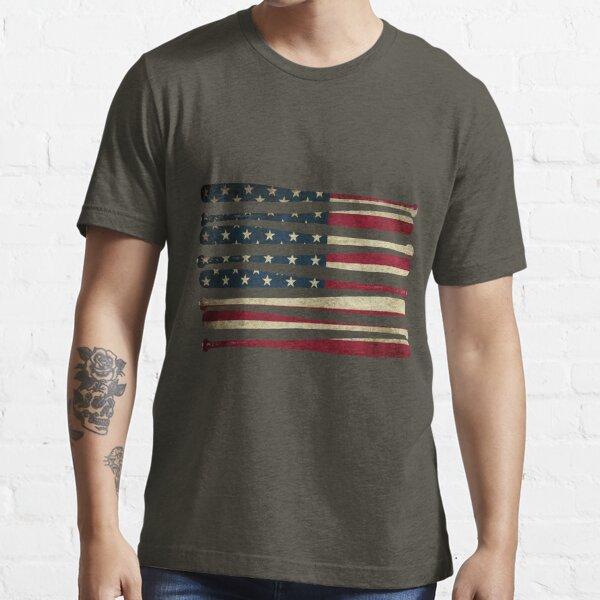 Bandera de béisbol de América Camiseta esencial