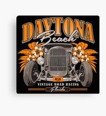 Daytona Vintage Road Racing Canvas Print