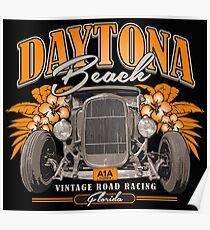 Daytona Vintage Road Racing Poster