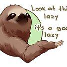 A good lazy by Hyanna