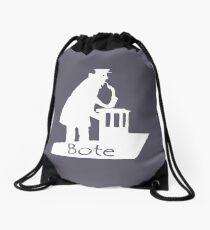 Bote White Drawstring Bag