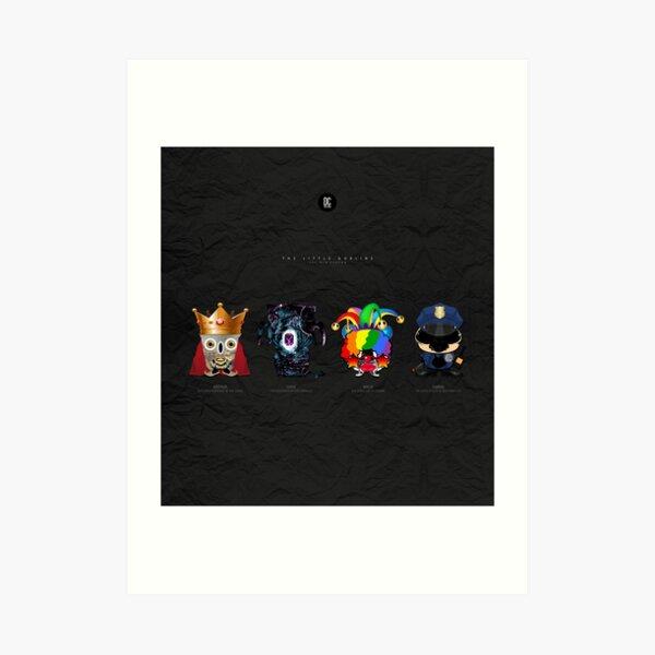 The Little Goblins - The New Season Art Print