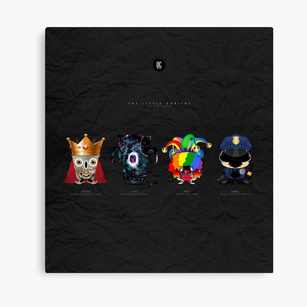 The Little Goblins - The New Season Canvas Print