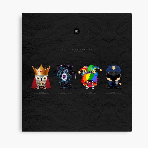 The Little Goblins - The New Season Canvas Print