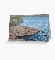 Waters Edge- Willow Lake Greeting Card