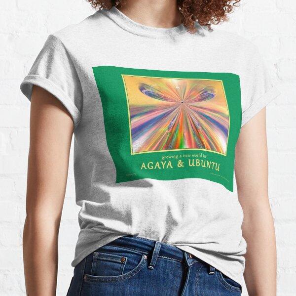 Novasutras Agaya & Ubuntu 'Metamorphia' Classic T-Shirt
