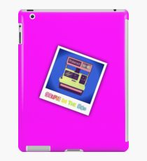 Selfie in the 80s iPad Case/Skin