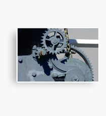 Mechanics I Canvas Print
