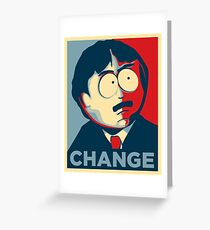 South Park Change  Greeting Card