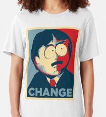 South Park Change  Slim Fit T-Shirt