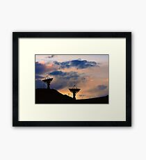 Sunset for Contact Framed Print